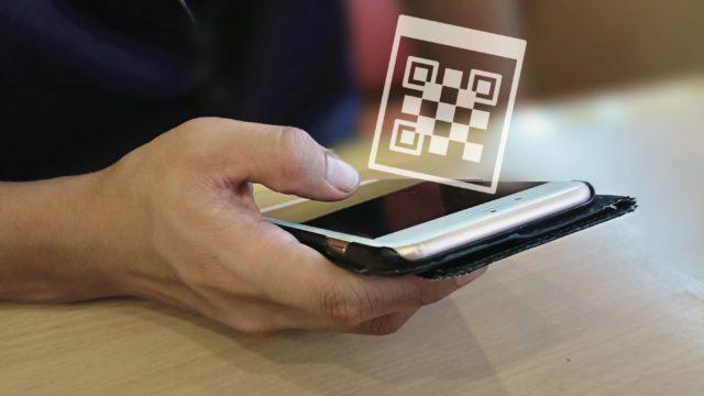 麒麟亭モバイルオーダー 定員からお渡ししたQRコードを読み込んでください